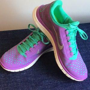 Nike Free Athletic Shoe